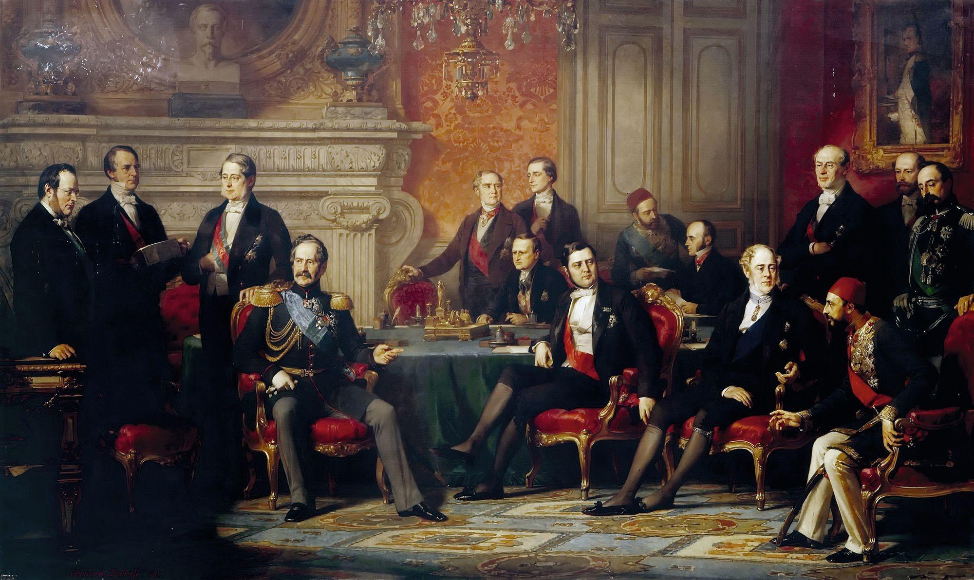Édouard Louis Dubufe, Le Congrès de Paris