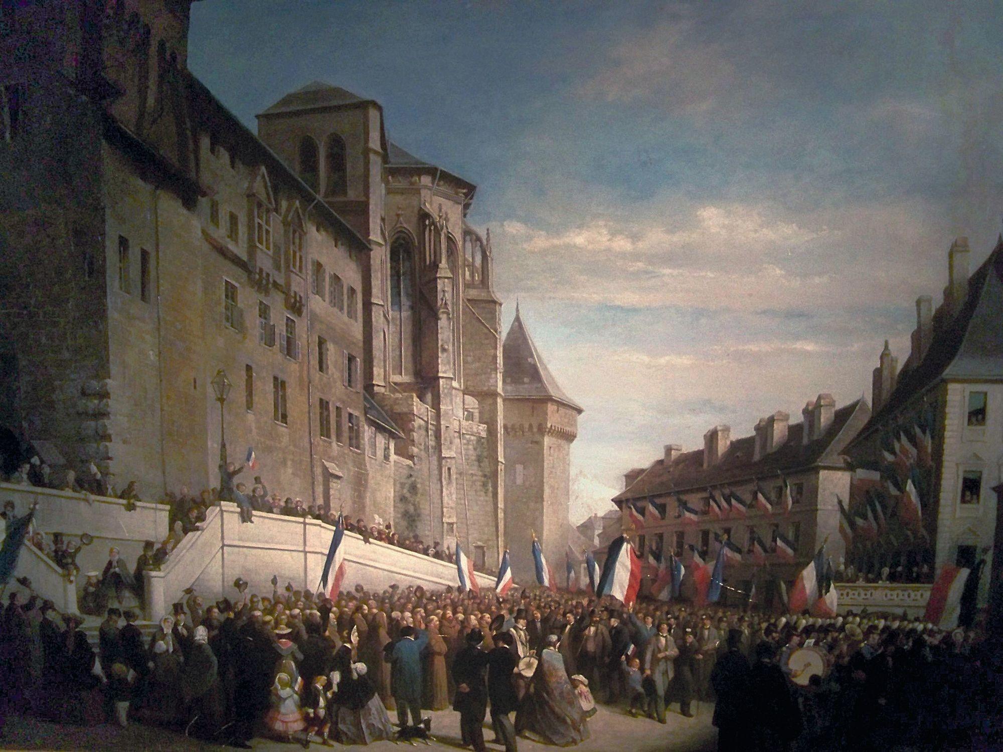 Louis Houssot, La Votation en 1860