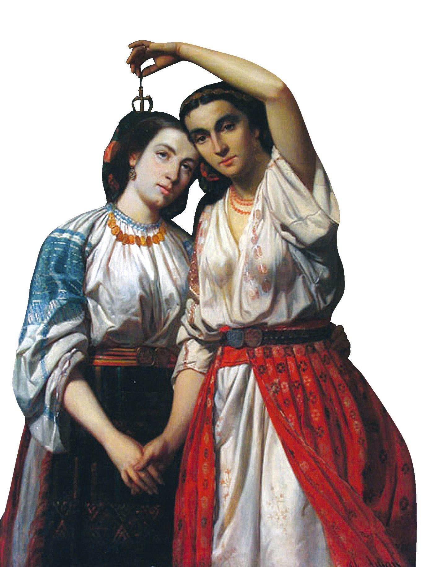 Theodor Aman, Union des principautés, 1859, huile sur toile, 130 x 97 cm, Metropolitan Museum, Iaşi.