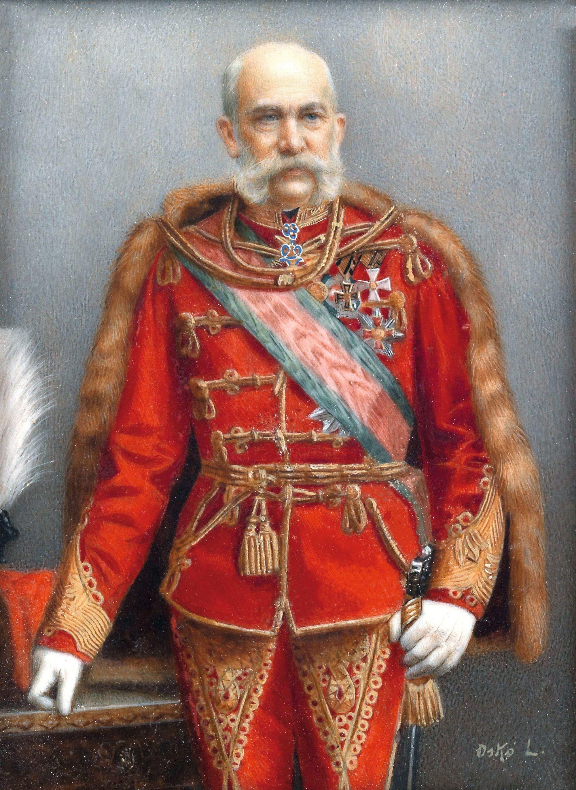 Portrait de François-Joseph Ier