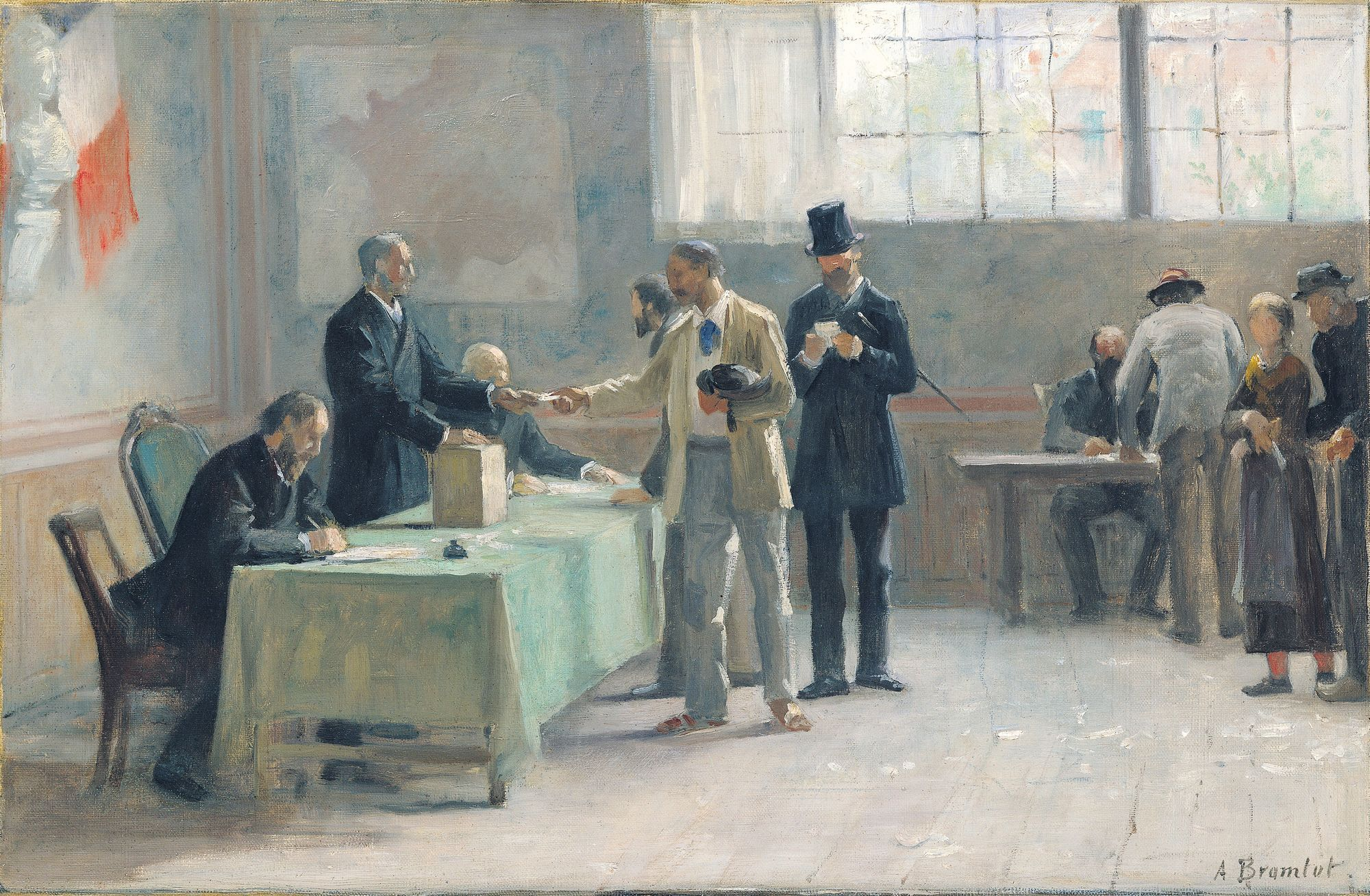 Alfred-Henri Bramtot, Le Suffrage universel