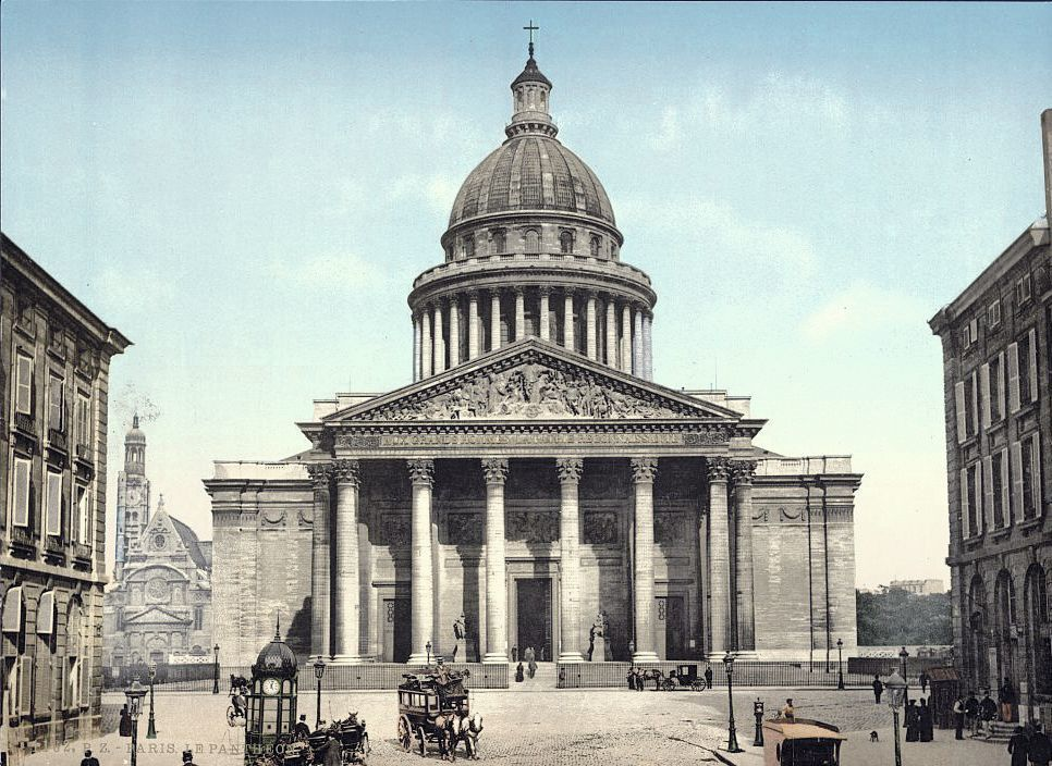 Le Panthéon, v. 1910, photographie