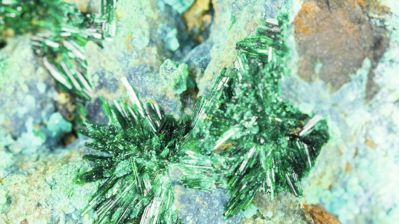 Atacamite : hydroxychlorure de cuivre