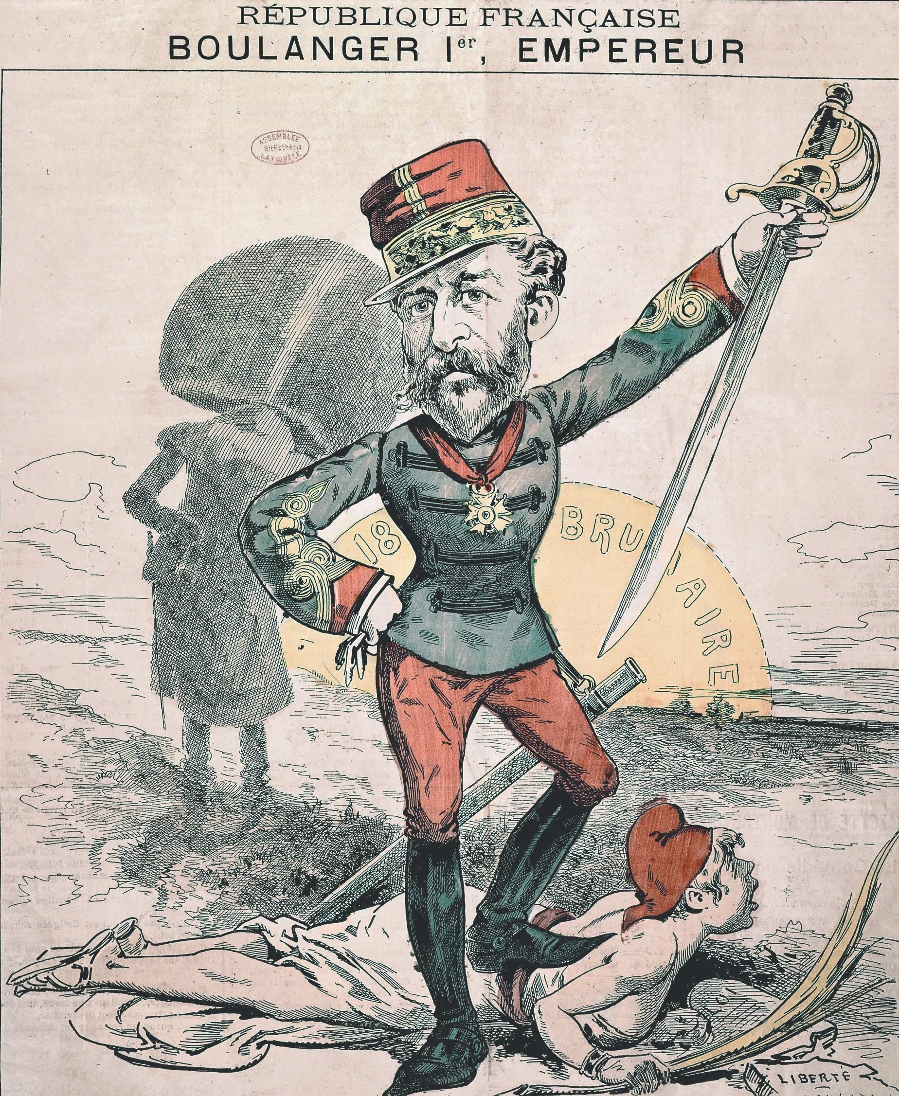 Boulangisme, Une du journal Le Grelot