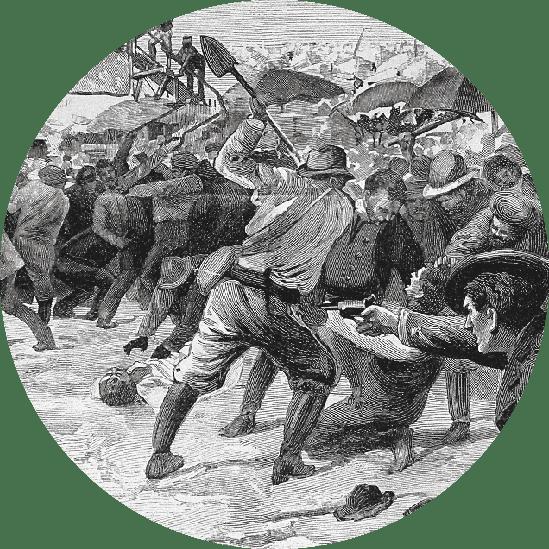 Le massacre d'Aigues Mortes