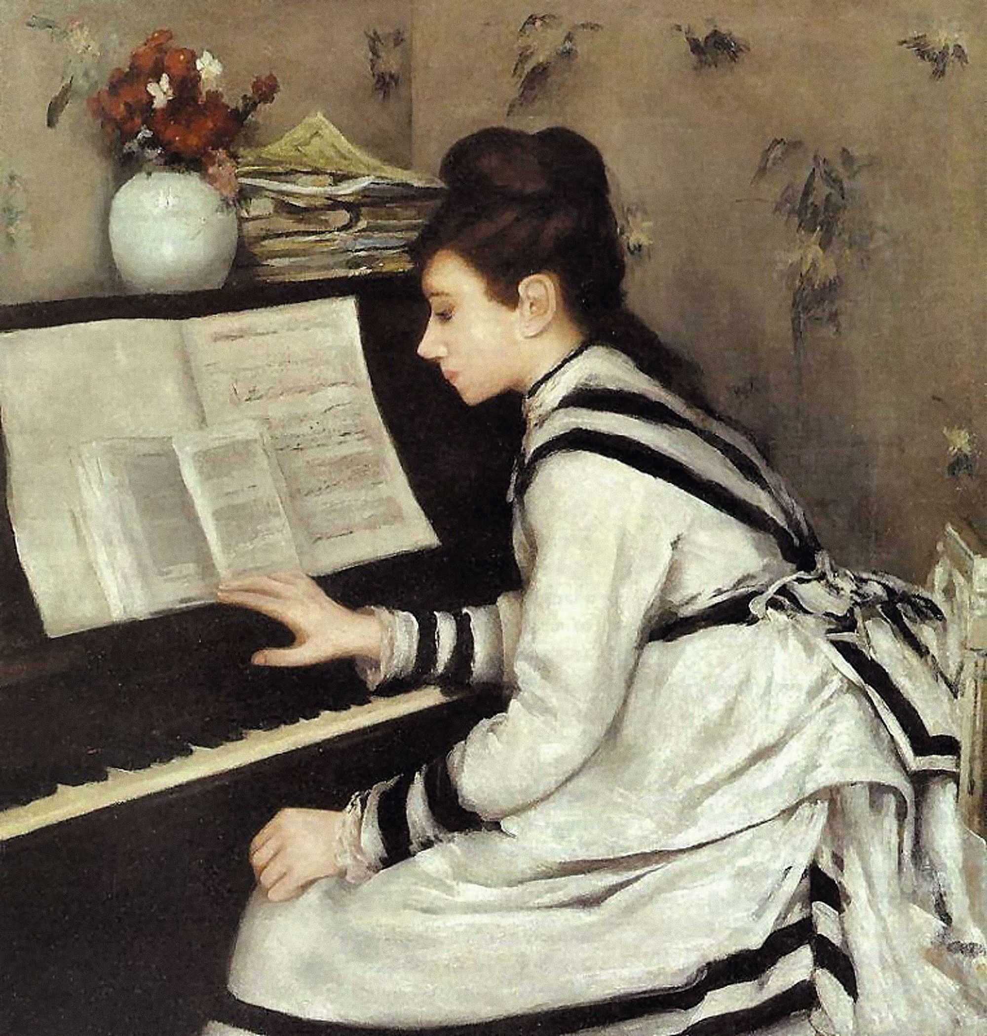 Eva Gonzales, Secrètement, 1878