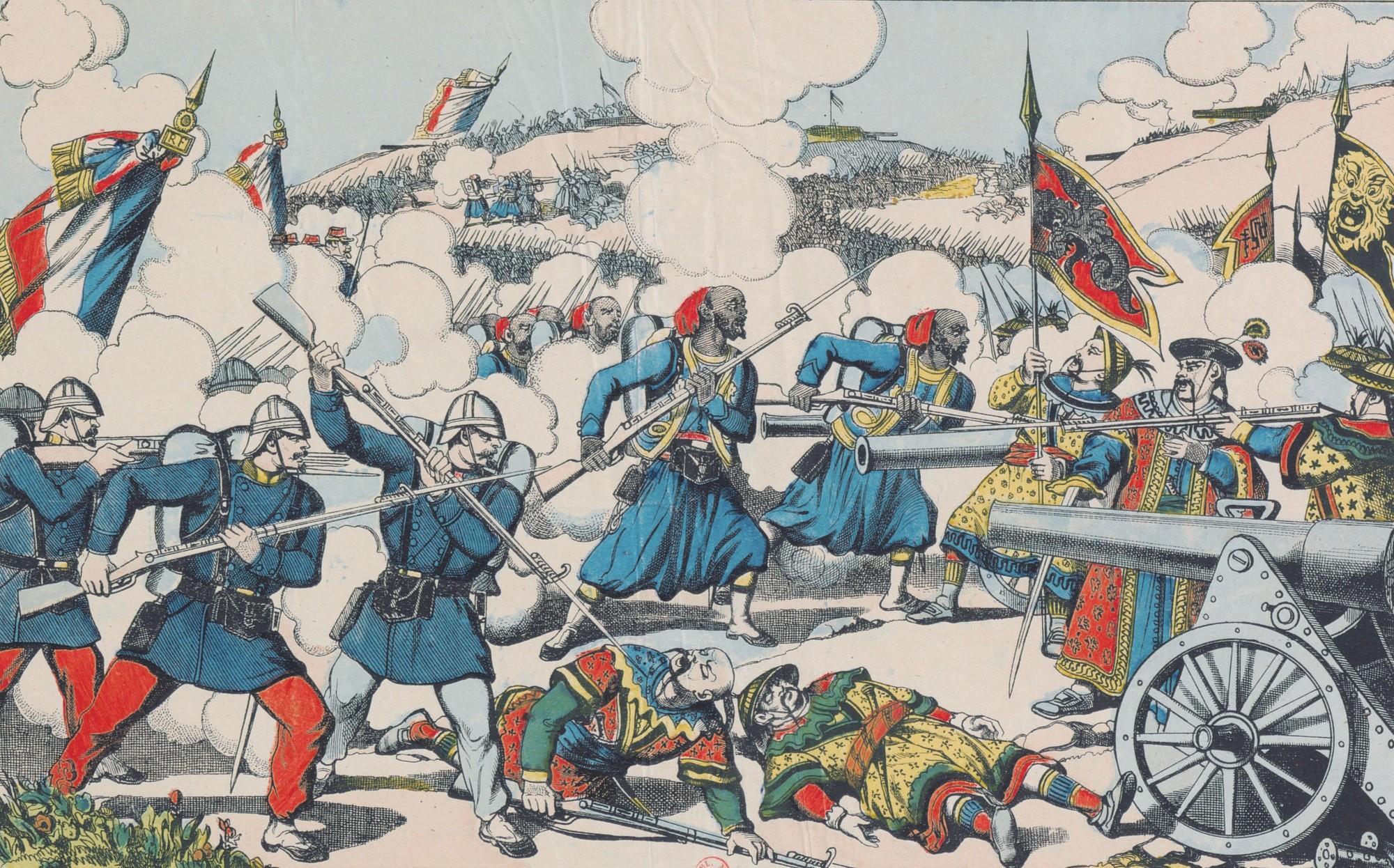 La prise de Lang Son le 13 février 1885