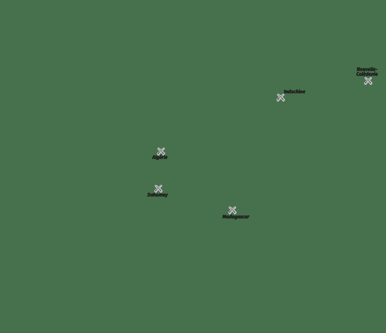 Principales résistances autochtones à la colonisation (texte)