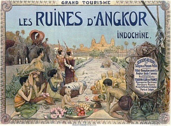 George Groslier, affiche, 1916.