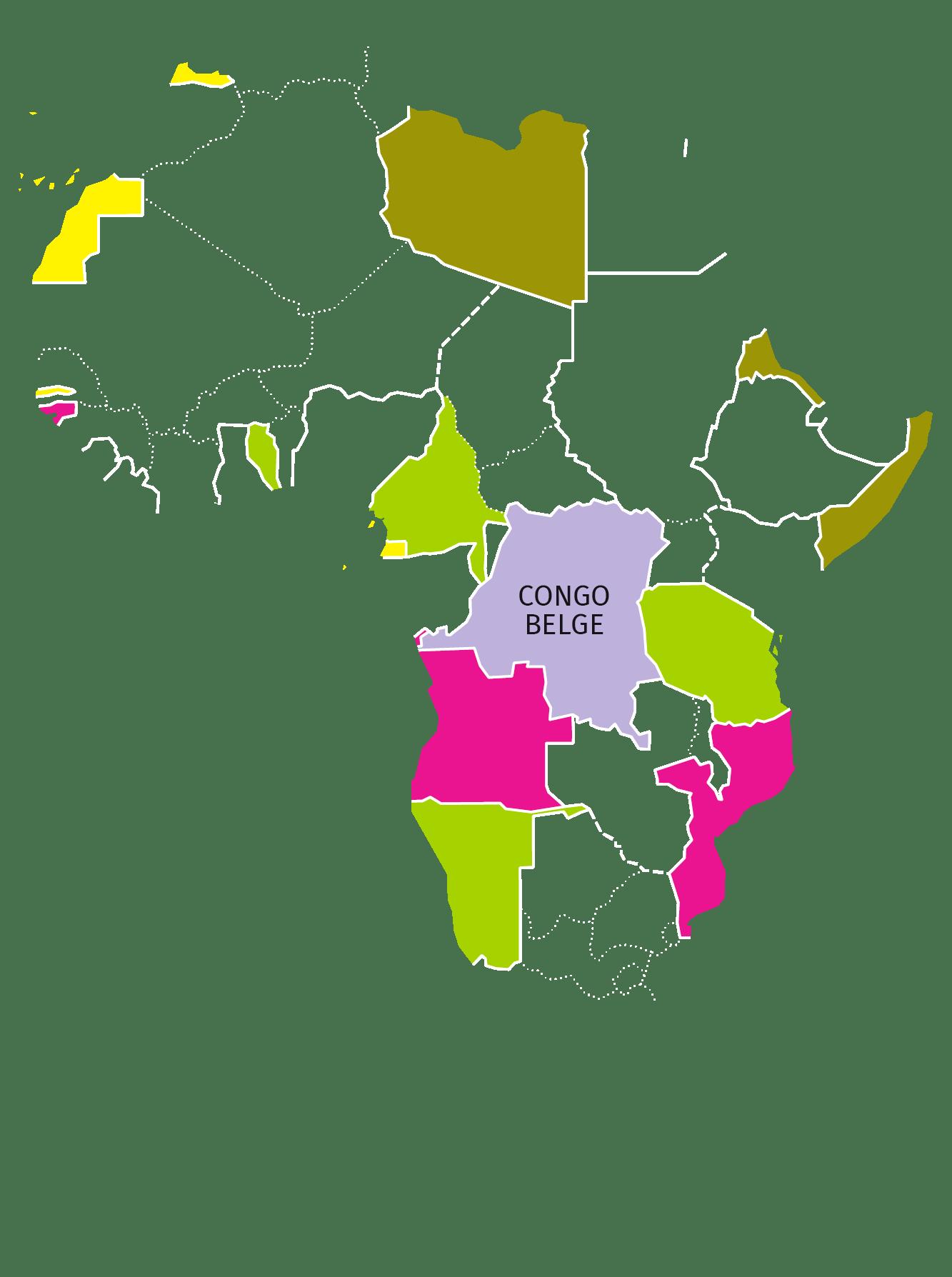 Autres colonies et protectorats européennes