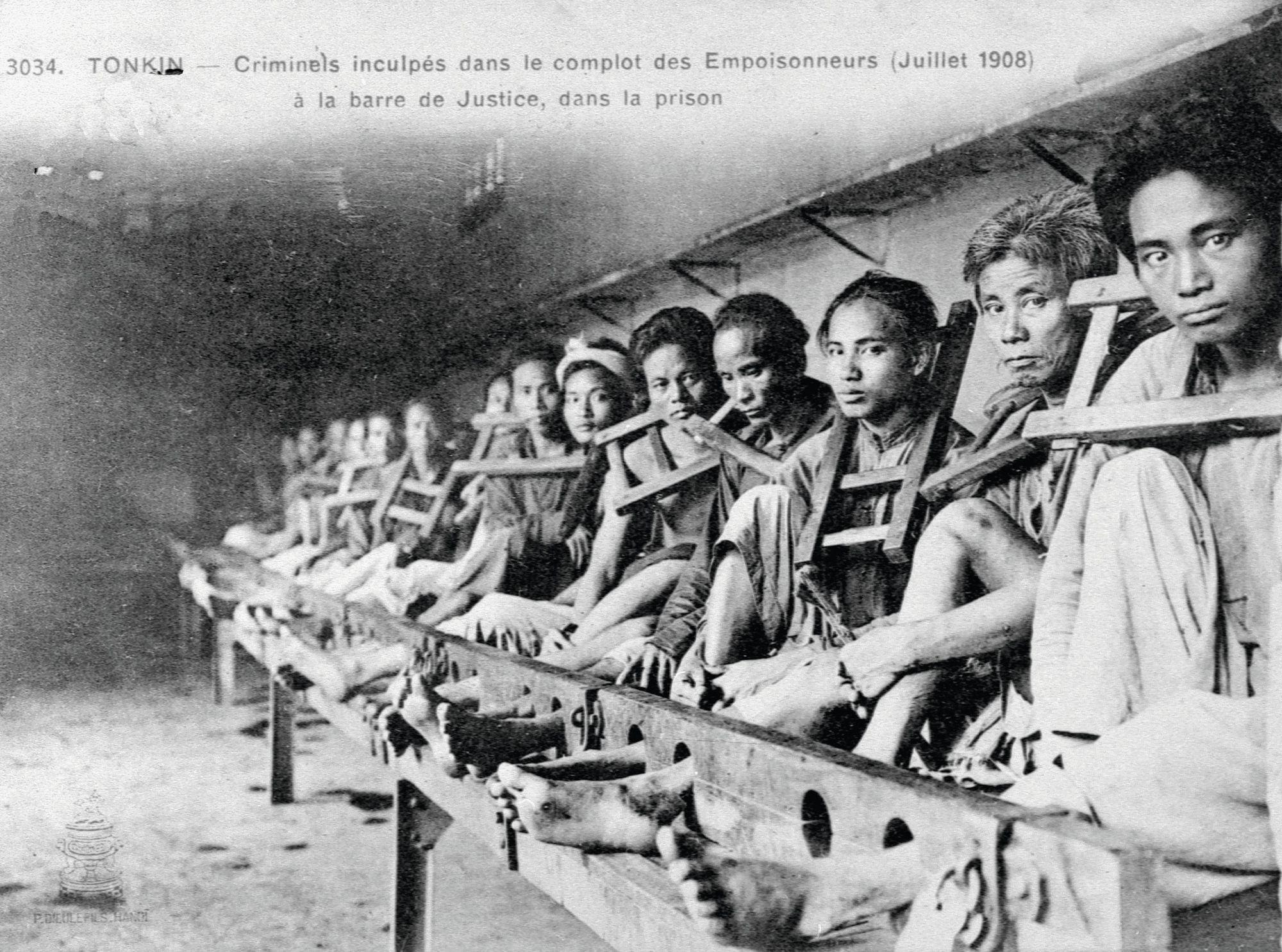 L'affaire des empoisonneurs, Hanoï (1908)