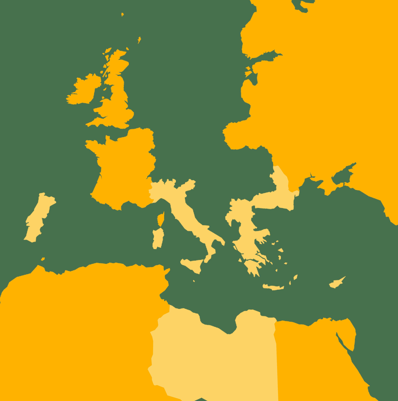La Triple-Entente et les pays se battant à ses côtés après août 1914