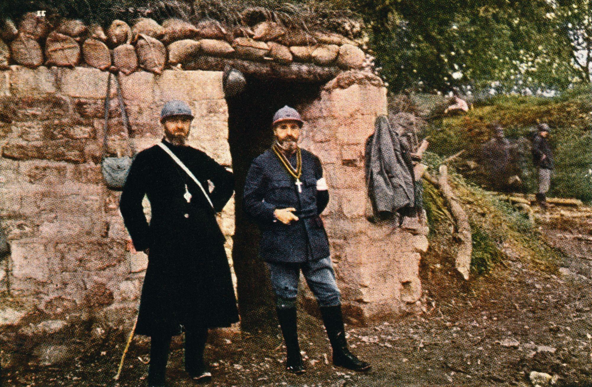 Jules Gervais‑Courtellemont, Verdun, octobre 1916