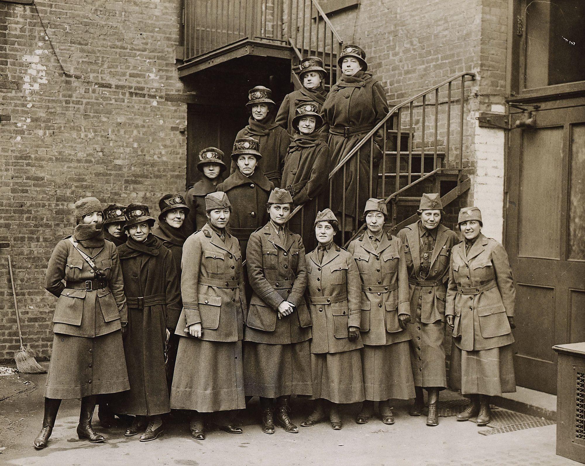groupe femmes USA