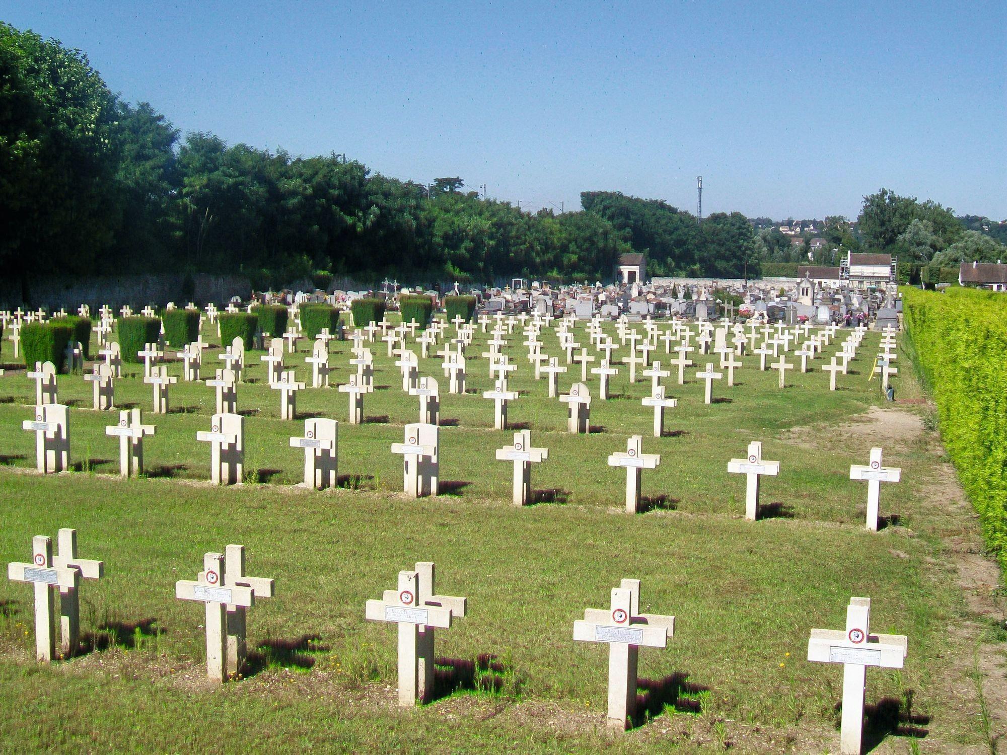 photo cimetière 1ere guerre mondiale