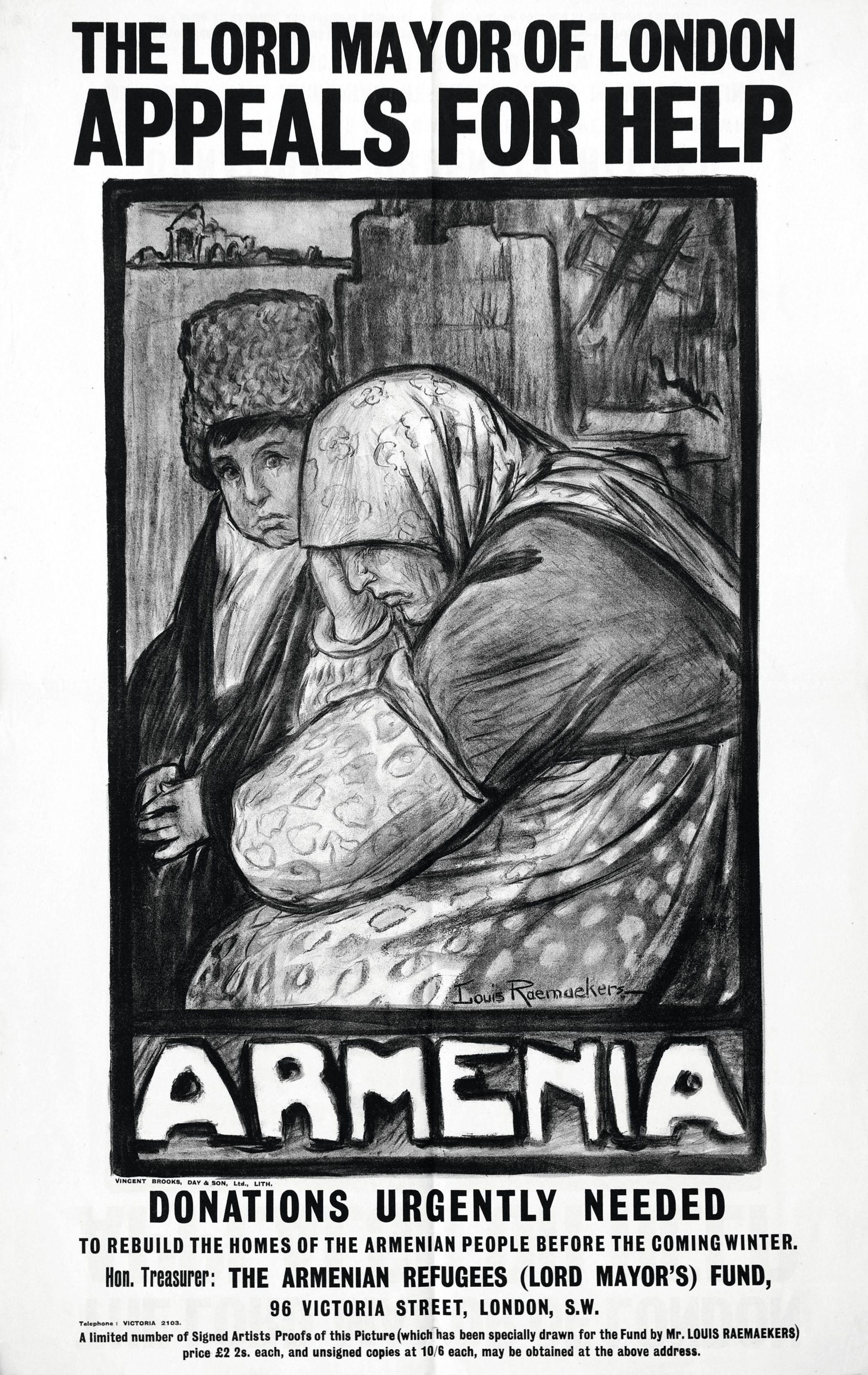 Louis Raemaekers, 1915, affiche