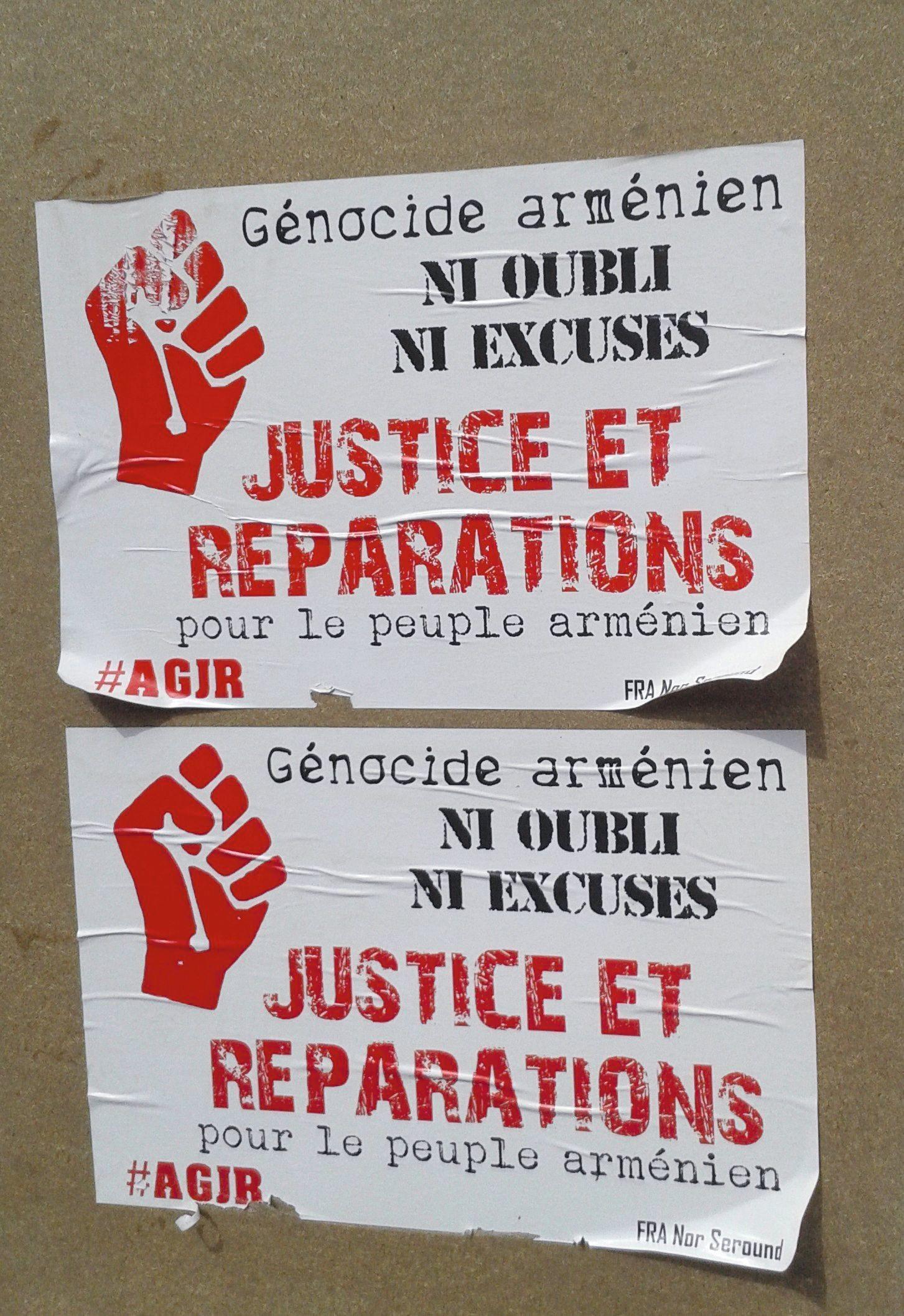 La reconnaissance du génocide arménien