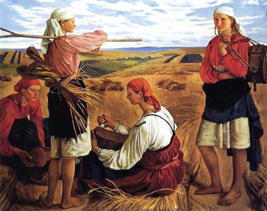 Zinaida Serebriakova, La moisson
