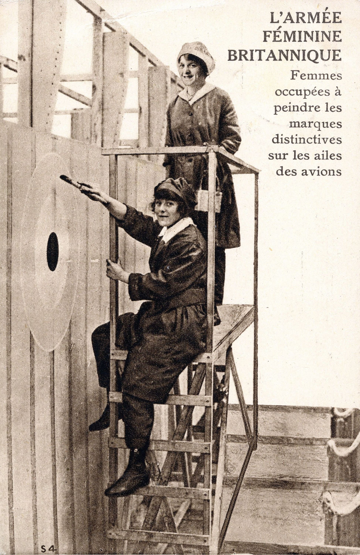 Carte postale anonyme de 1917