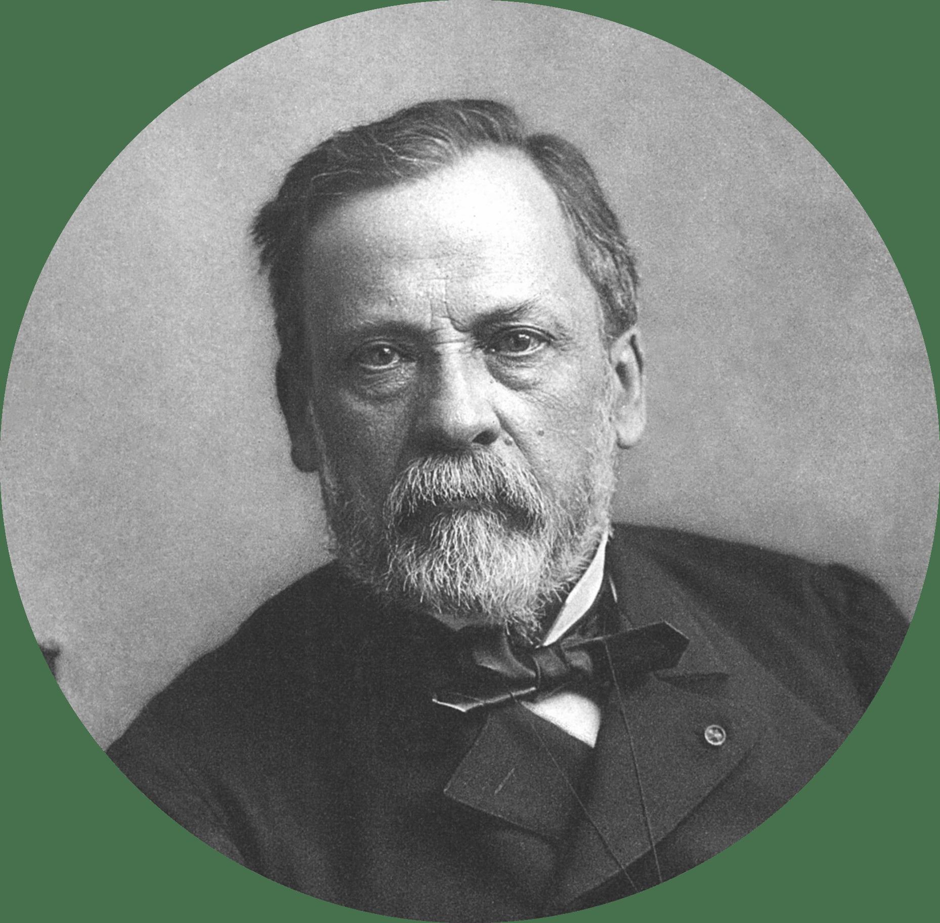 photo portrait de Pasteur
