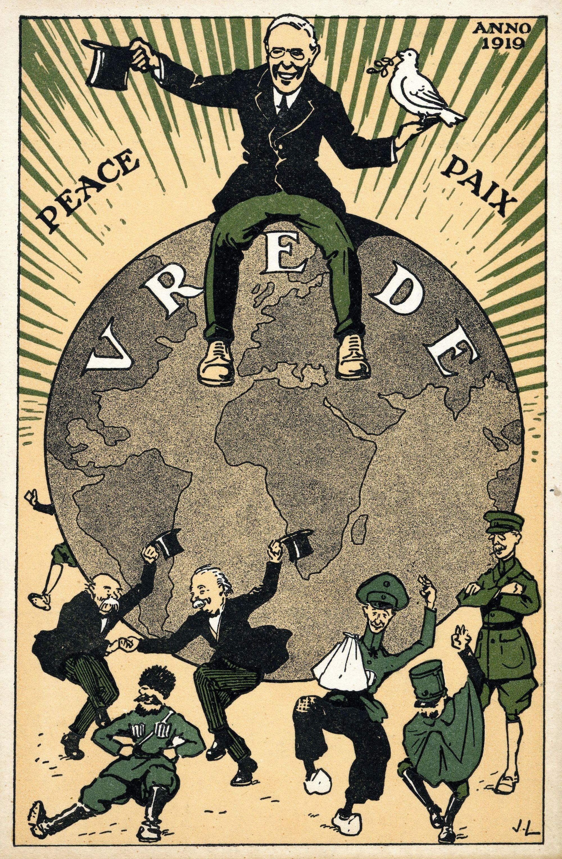 Wilson Carte postale, 1919