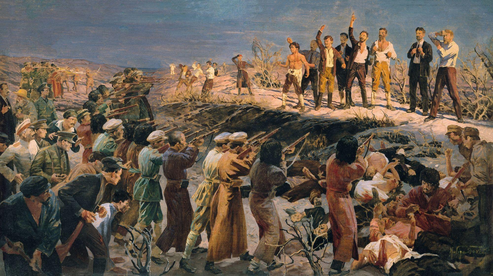 Isaak Brodsky, L'exécution des vingt‑six commissaires de Bakou
