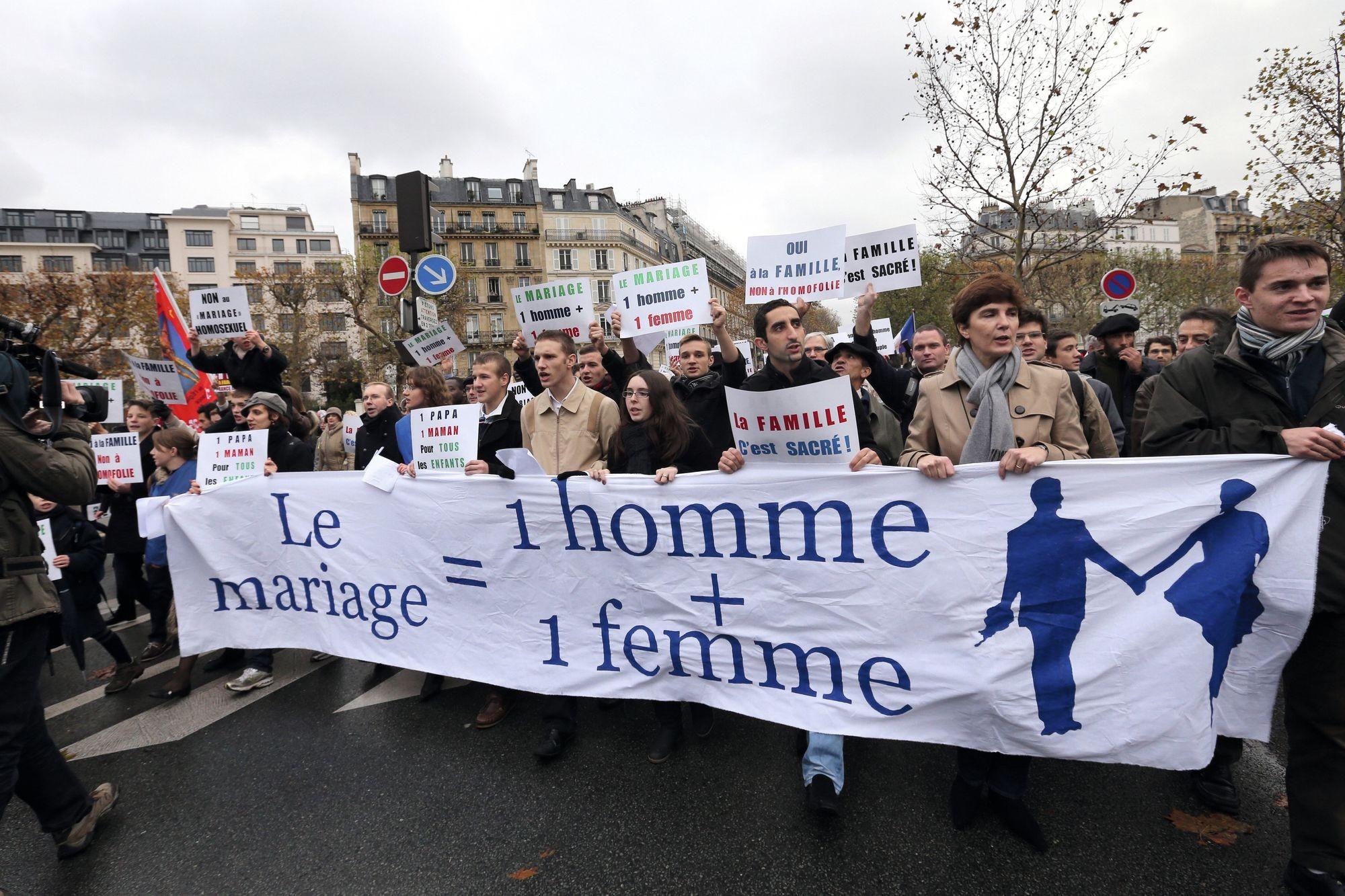 Le « mariage pour tous » : une société divisée