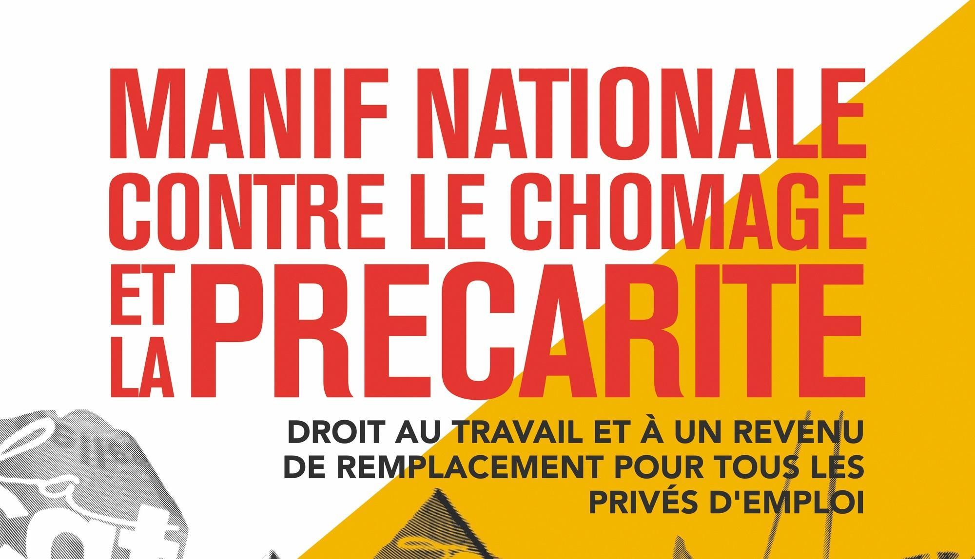 Tract de la CGT appelant à une manifestation (détail), 1er décembre 2018.