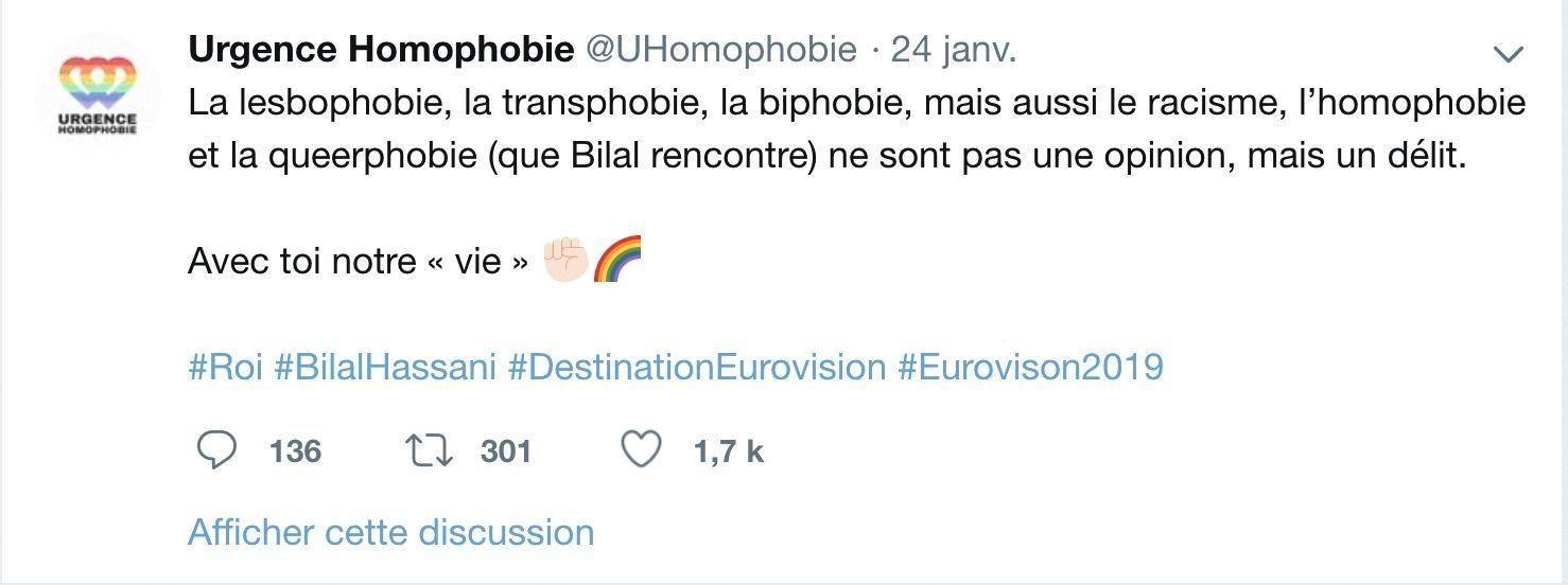 Urgence homophobie