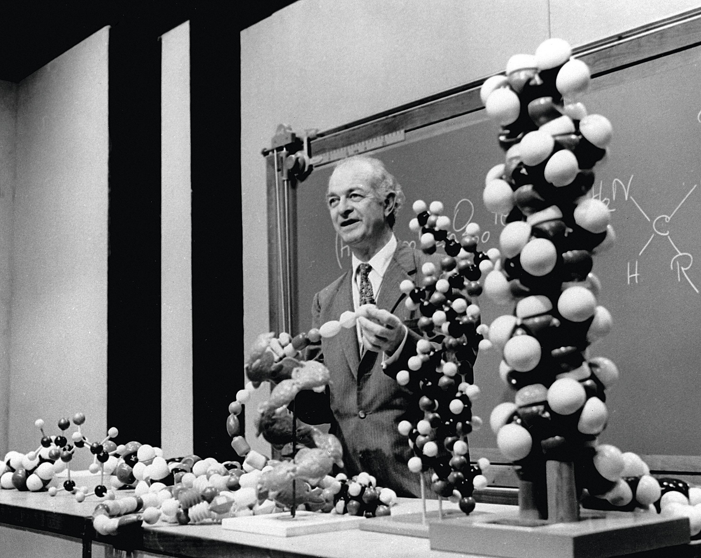 Linus Pauling, prix Nobel de chimie en 1954