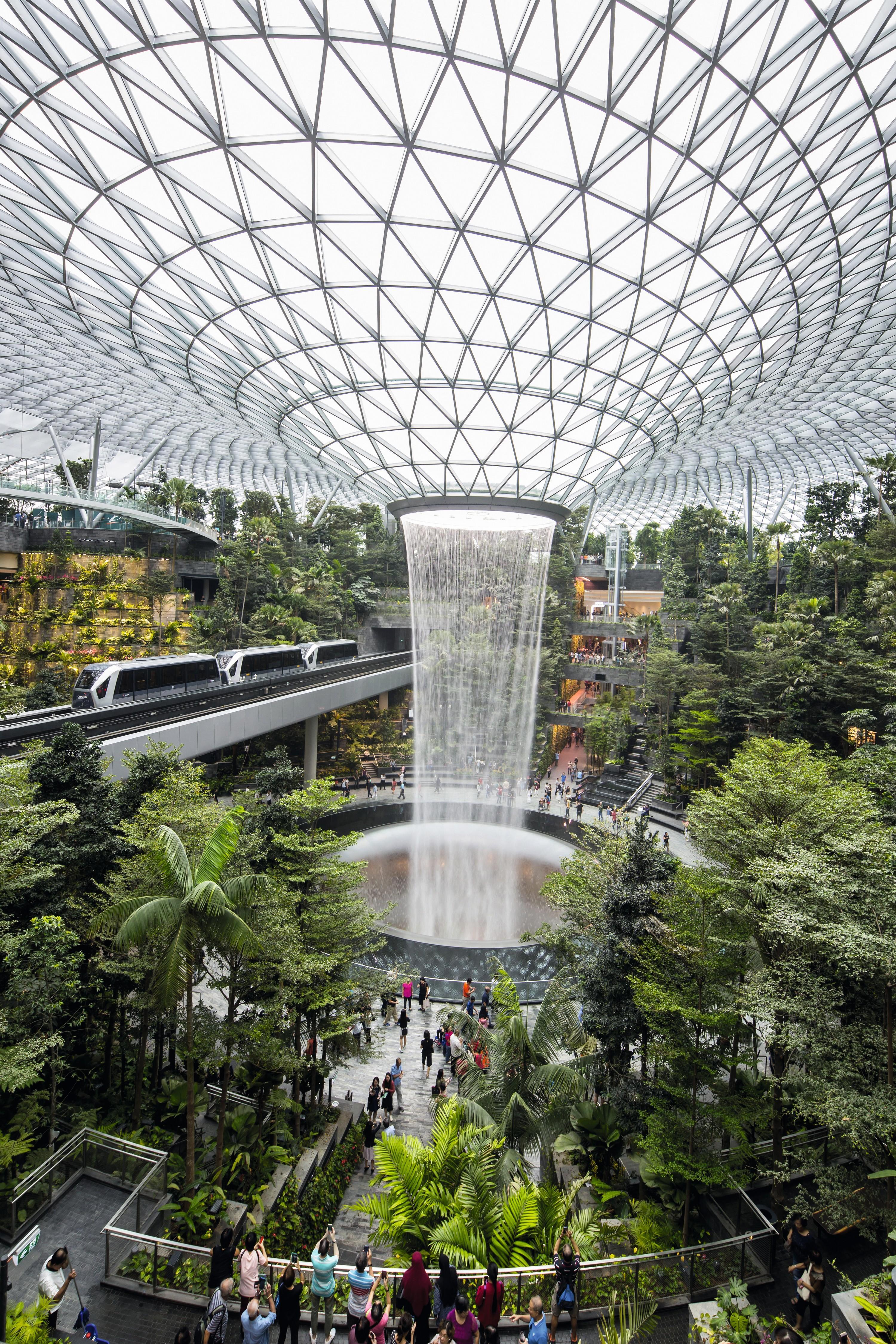 Jewel Changi, nouveau terminal de l'aéroport de Changi, Singapour