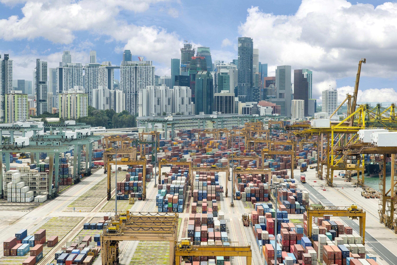 Singapour Le deuxième port à conteneurs du monde