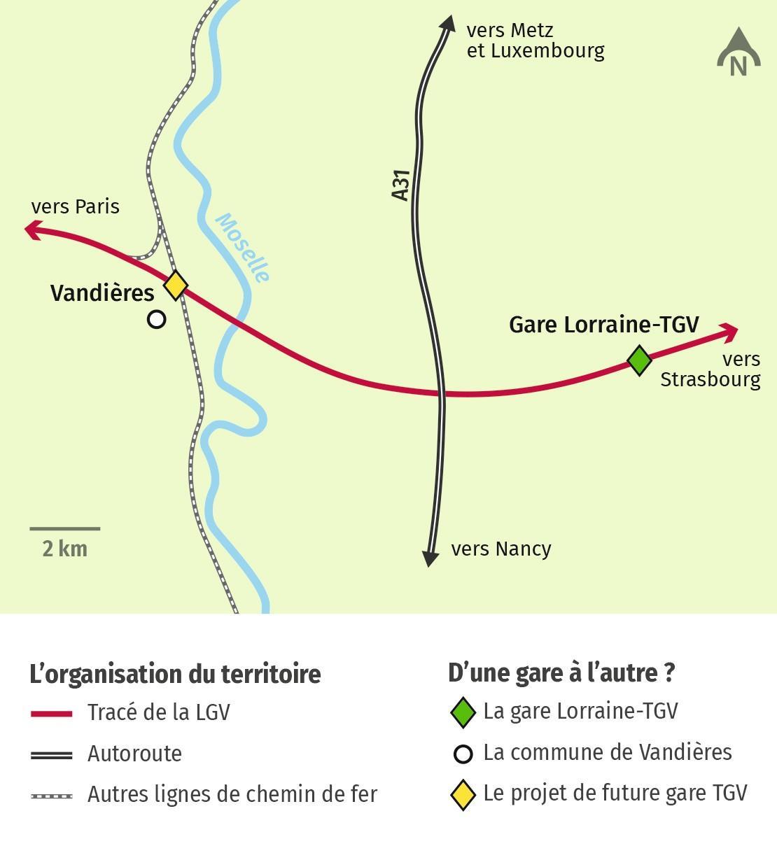 Vandières, une future nouvelle gare TGV ?