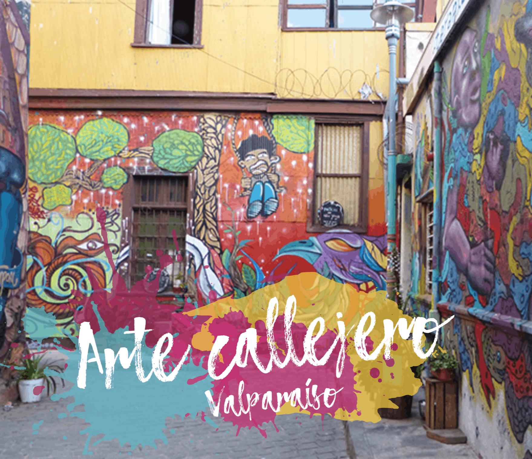Promoción del arte callejero en Valparaíso.