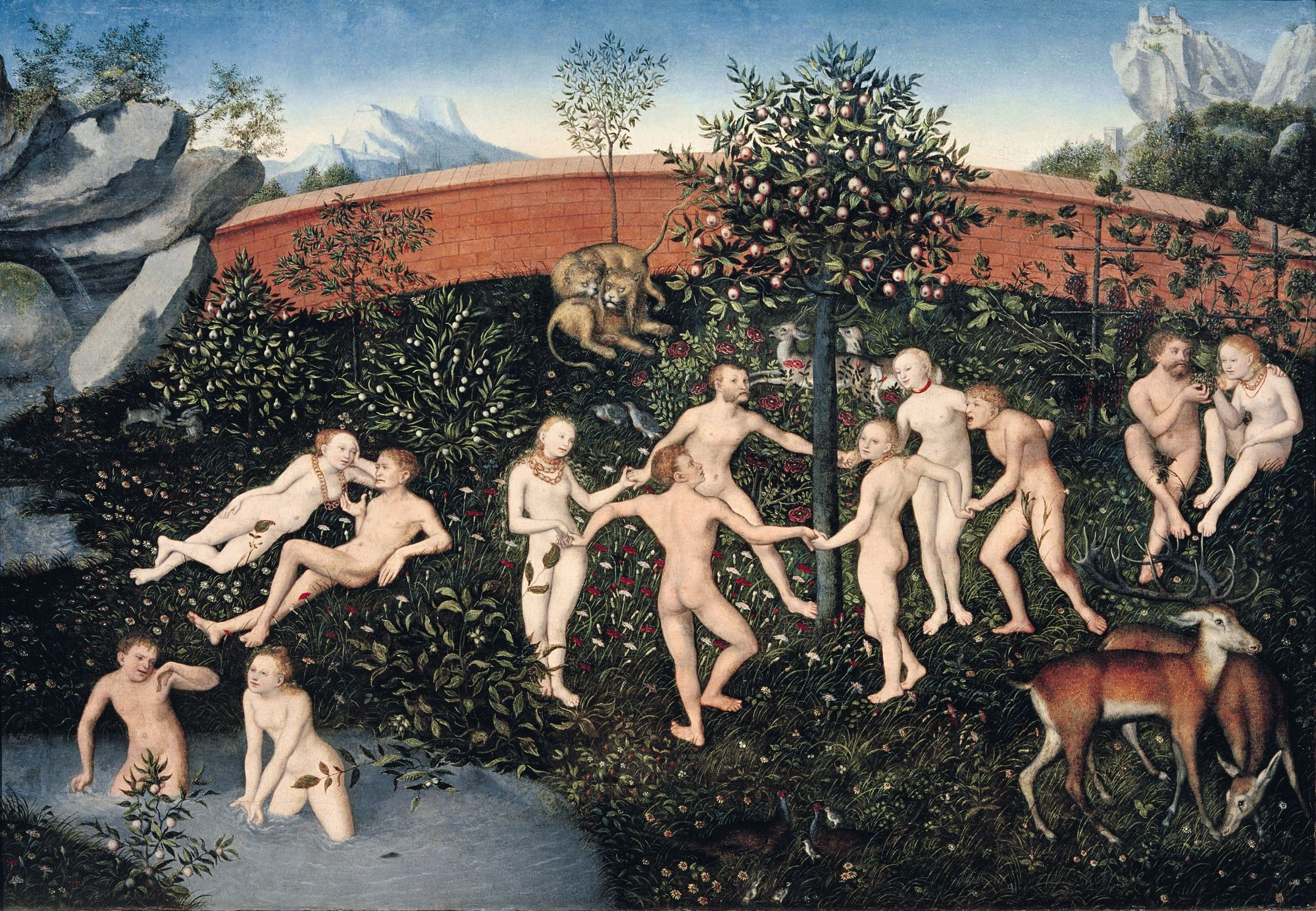 Lucas Cranach l'Ancien, L'Âge d'or