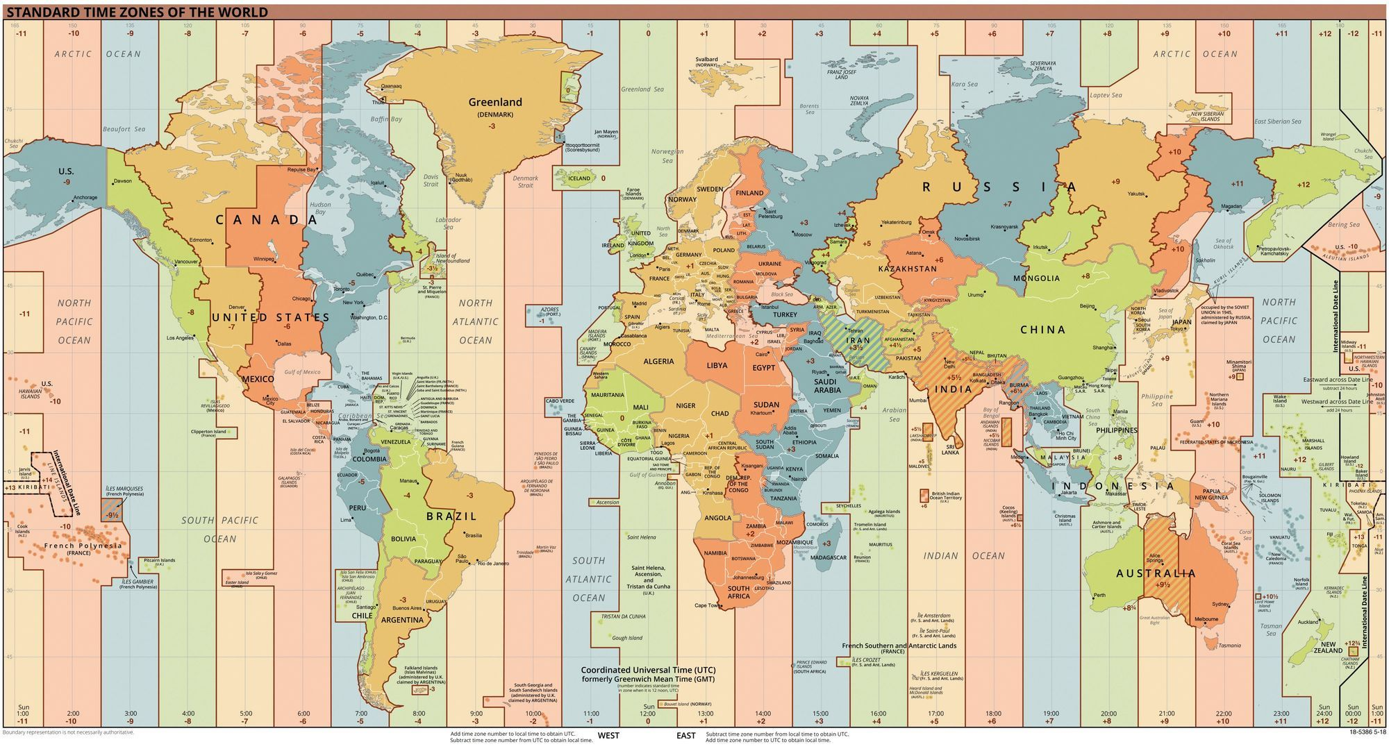 Fuseaux horaires et harmonisation du temps mondial