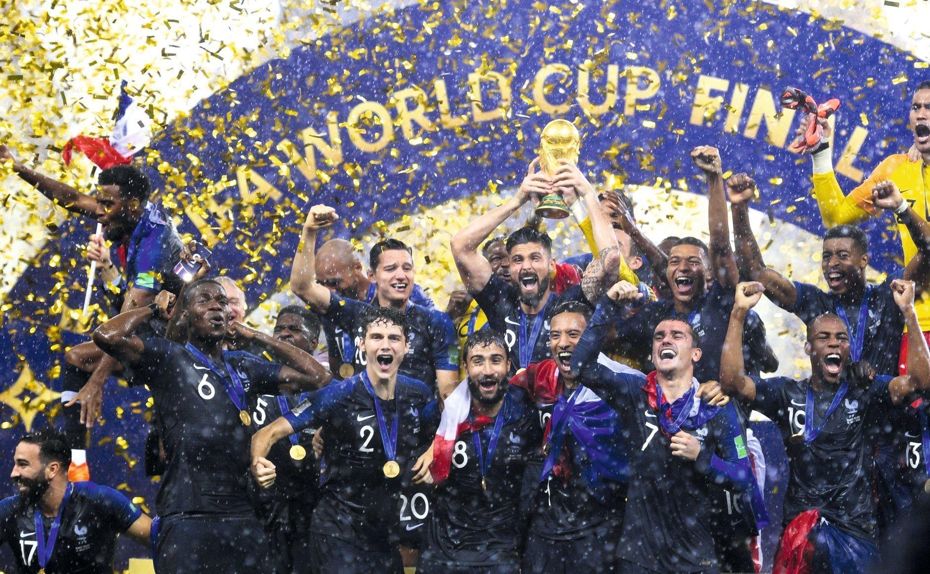 Équipe de France, championne de la coupe du monde de foot 2018