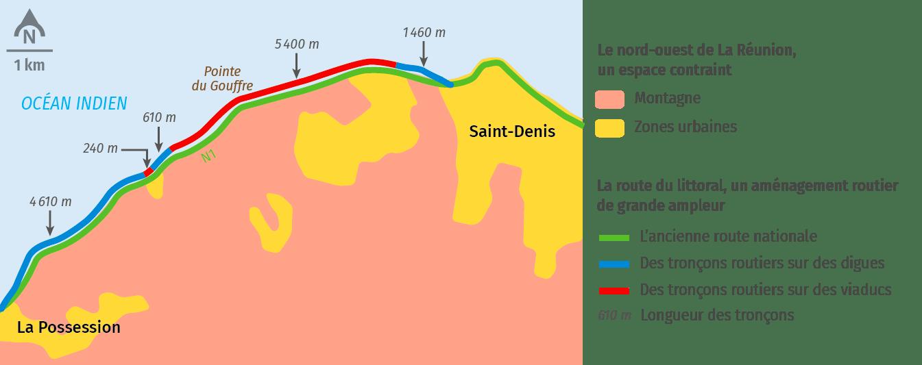 La Reunion route du littoral