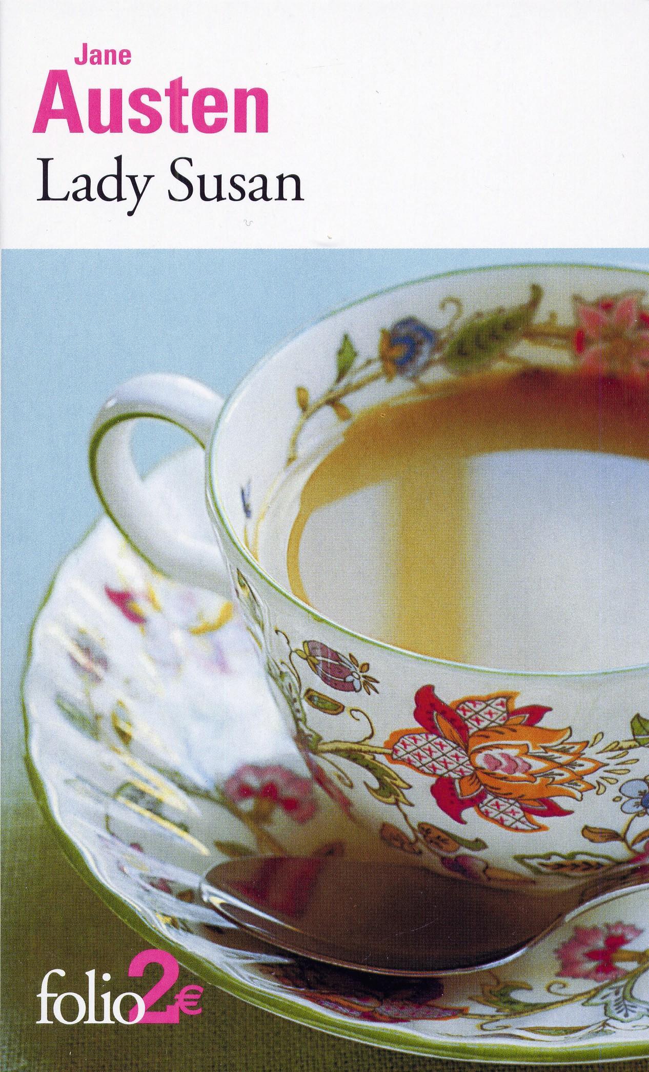 Couverture Lady Susan Jane Austen