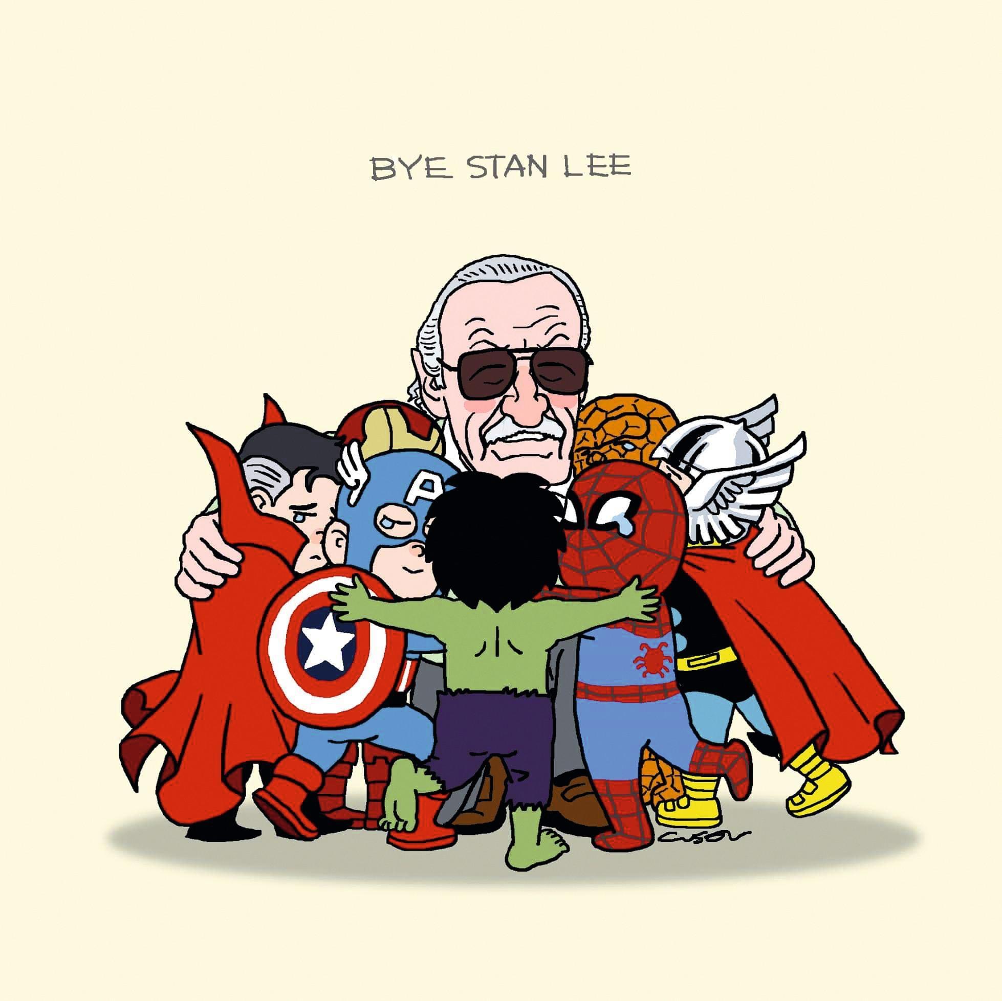 Bye Stan Lee, Cuson Lo, 2018