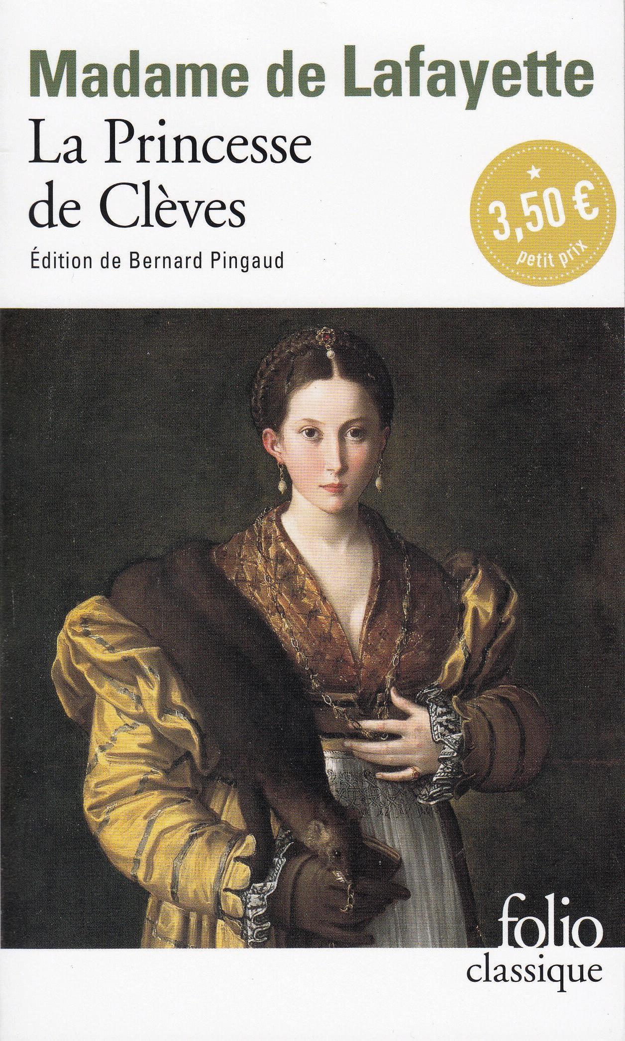 La Princesse de Clèves Madame de Lafayette