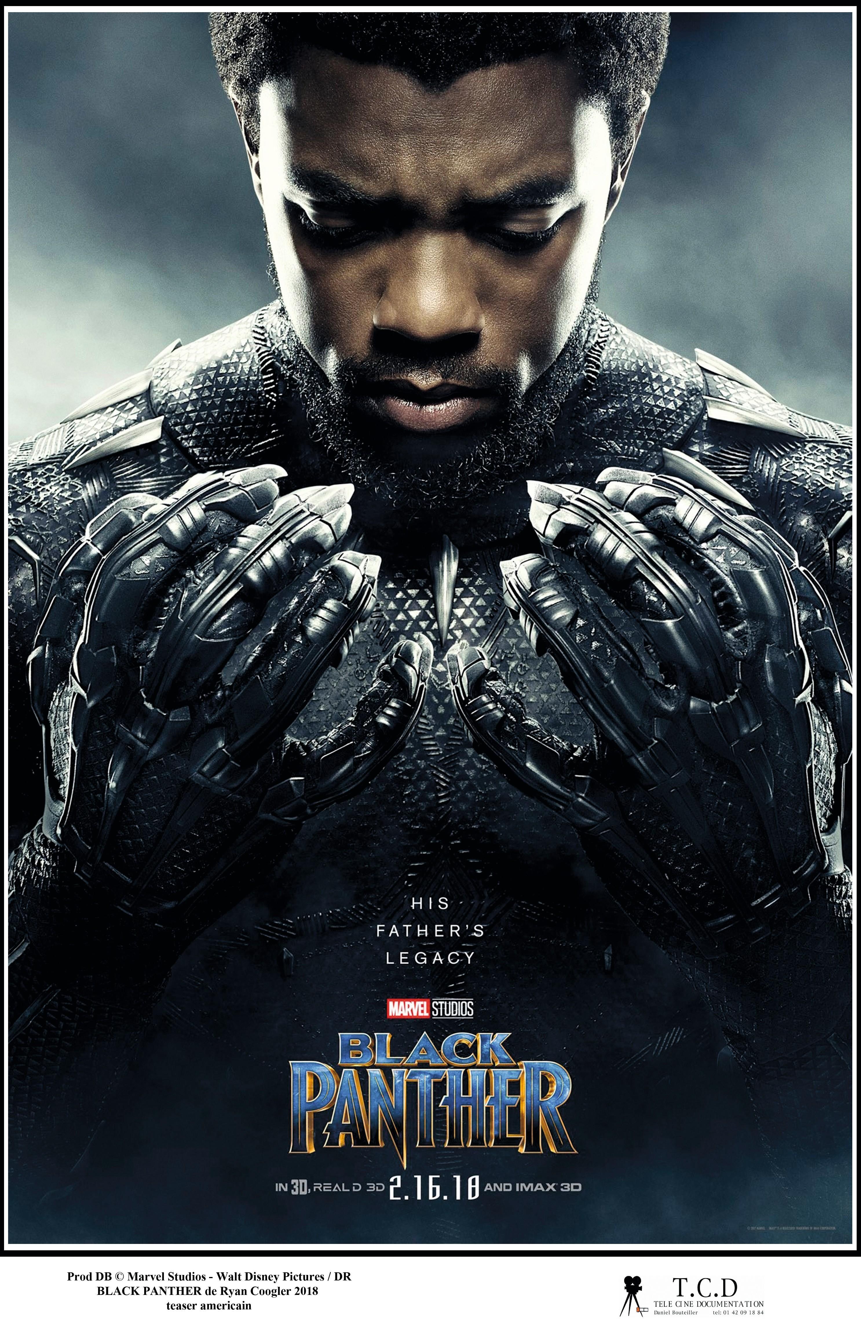 Black Panther, by Ryan Coogler, 2018