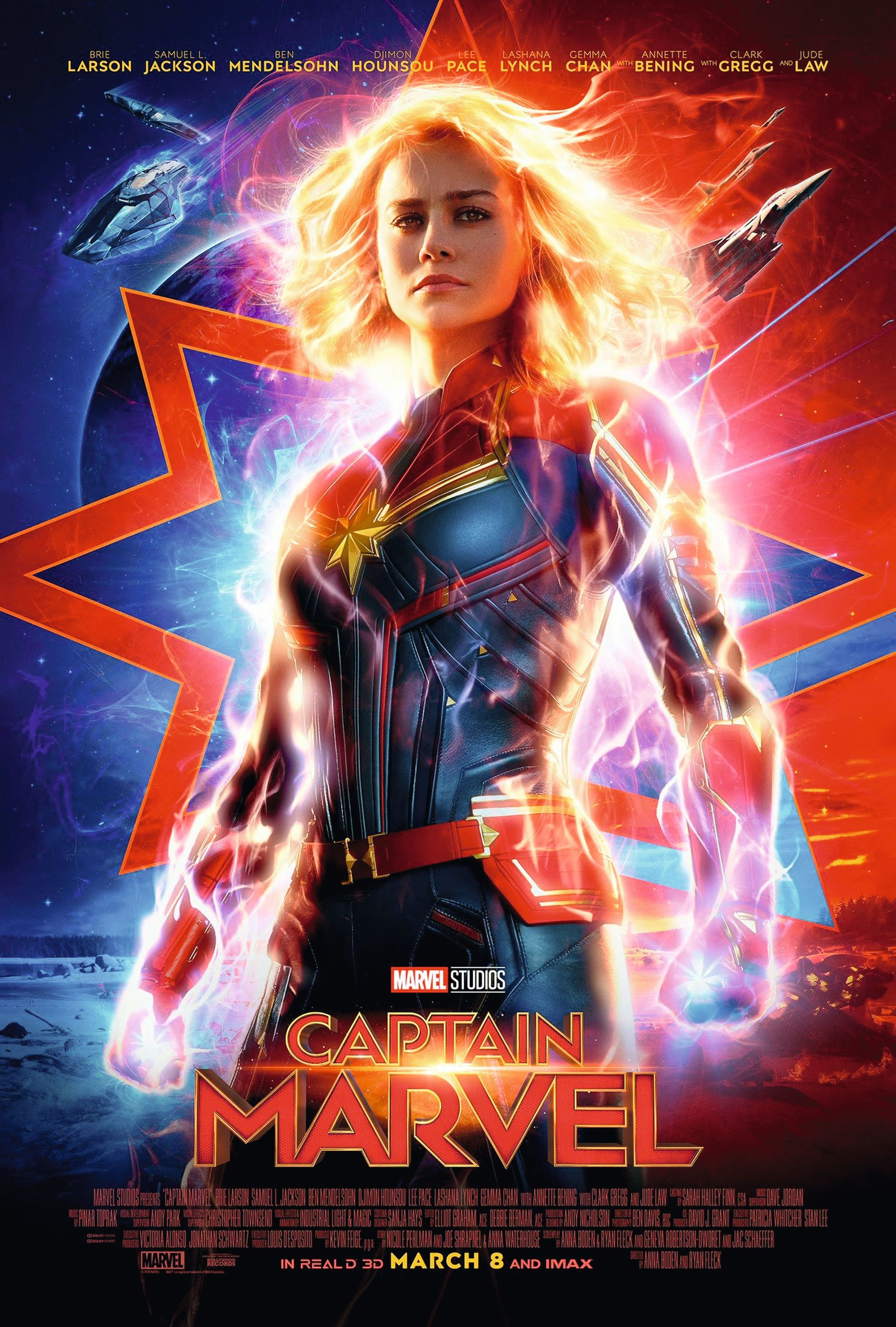 Captain Marvel, by Anna Boden and Ryan Fleck, 2019