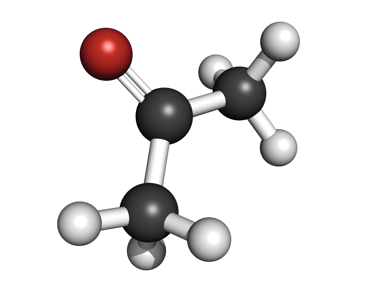 Acétone (propanone).