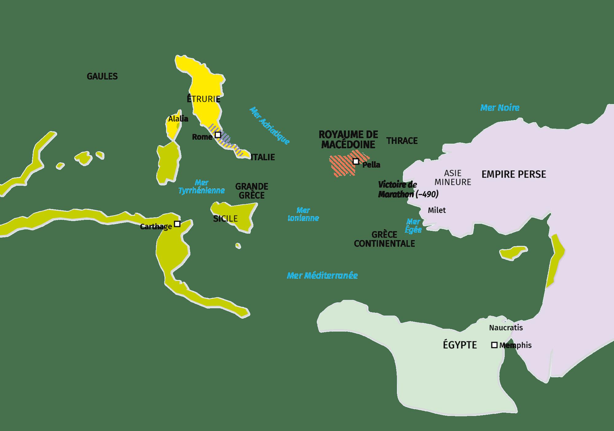III. Les autres puissances méditerranéennes