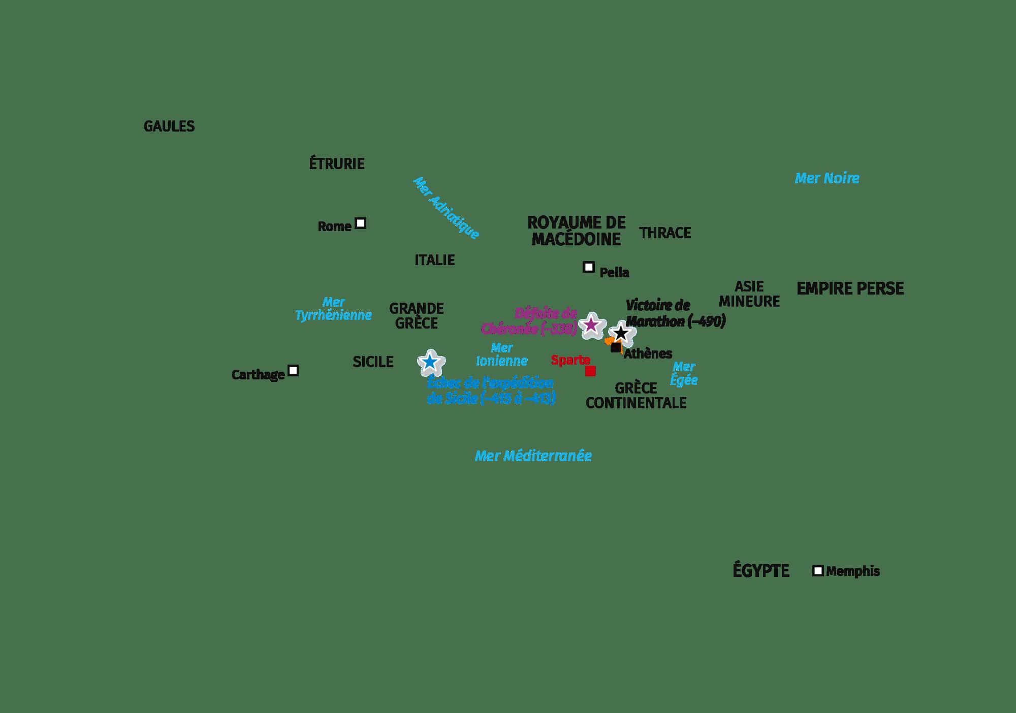 II. Un monde grec dominé par Athènes