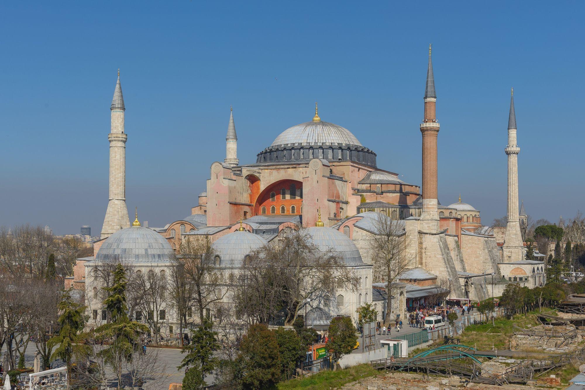 Sainte-Sophie, aujourd'hui un musée, Istanbul.