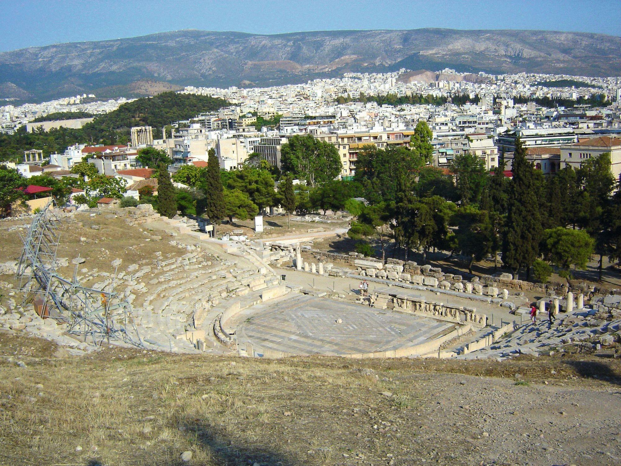 Le théâtre de Dionysos (Athènes)