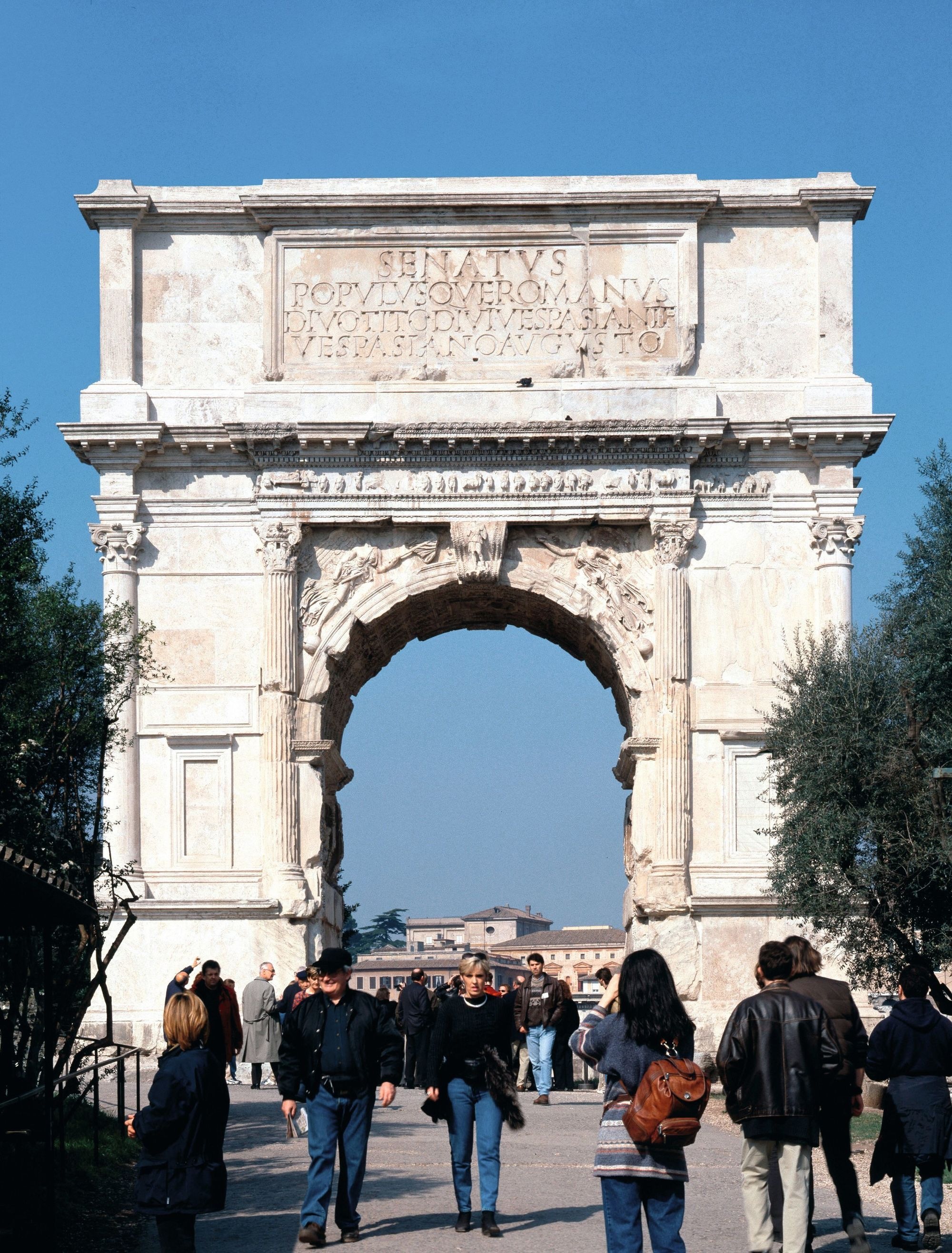 Arc de Titus, 81 apr. J.-C., Rome