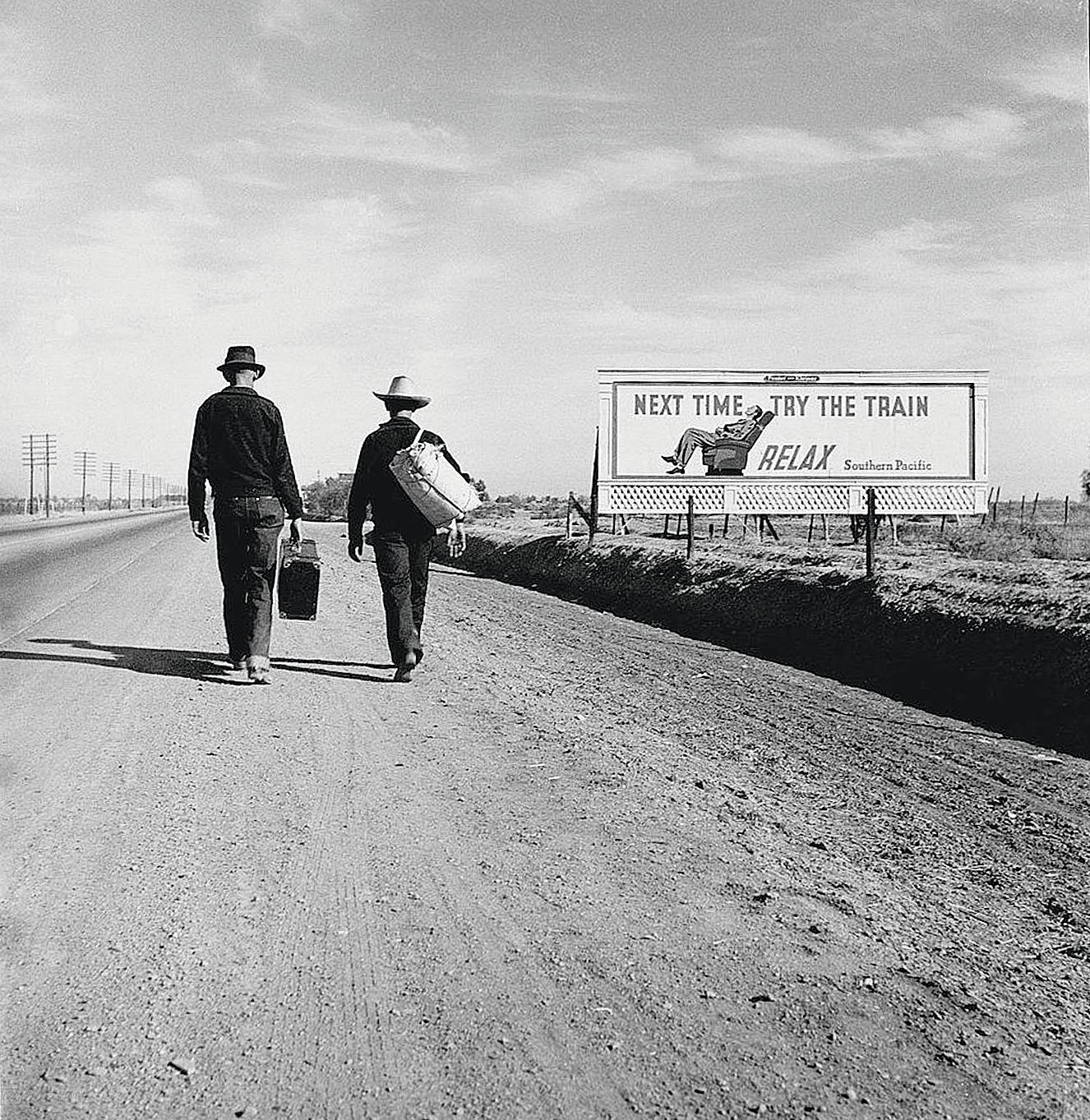 Towards Los Angeles, by Dorothea Lange, 1937.